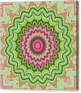 Tropical Kaleidoscope Canvas Print