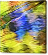Tropical Mosaic Abstract Art Canvas Print