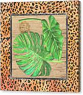 Tropical Palms 2 Canvas Print