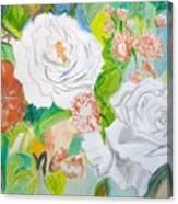 Tropical Rose Canvas Print
