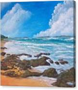 Tropical Seascape Canvas Print