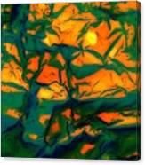 Tropical Sun Canvas Print
