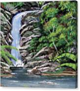 Tropical Waterfall 2 Canvas Print