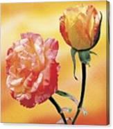 Tropicana Roses 2 Canvas Print