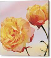 Tropicana Roses Canvas Print