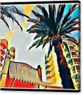 Tropicano Paradise Canvas Print