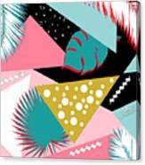 Tropics Colors  Canvas Print