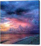 Troubling Skies Canvas Print