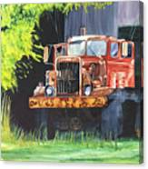 Truck Rusted Canvas Print