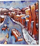 Truckee First Snow Canvas Print