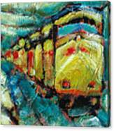 Truckee Train 2 Canvas Print