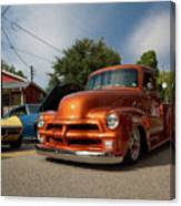 Trucking With Style Canvas Print