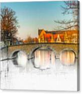 True Colors Of Amsterdam Canvas Print