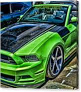 Truefiber Mustang Canvas Print