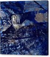 Truly Blue  Canvas Print