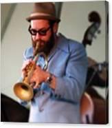 Trumpeter 1 Canvas Print