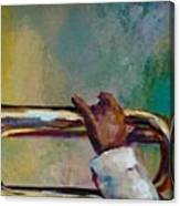 Trumpeter Canvas Print