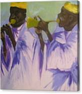 Trumpeters Canvas Print