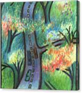 Trunk Road Canvas Print