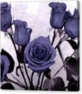Trunk Roses Canvas Print