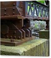 Trussed Trestle Canvas Print