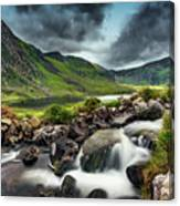 Tryfan And Ogwen Lake Canvas Print