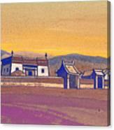Tsagan-kure, Inner Mongolia Canvas Print