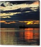 Tsawassen Sunset Canvas Print