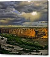 Tsegi Overlook Sunrise Canvas Print