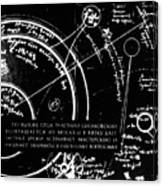 Tsiolkovsky's Works On Space Conquest Canvas Print