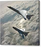 Tsr.2 Advanced Bomber And Lightning Interceptor Canvas Print