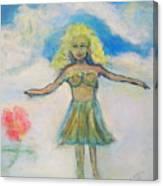 Tsunami Angel Canvas Print