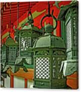 Tsuri-do-ro Or Hanging Lantern #0807-2 Canvas Print