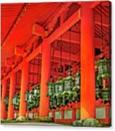 Tsuri-do-ro Or Hanging Lantern #0807-4 Canvas Print