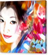 Tsuru Hime Canvas Print