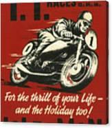 Tt Races 1961 Canvas Print