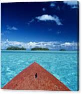 Tuamotu Islands, Raiatea Canvas Print