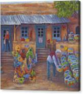 Tubac Pottery Shop Canvas Print