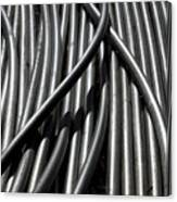 Tubular Abstract Art Number 13 Canvas Print