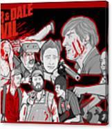 Tucker And Dale Vs. Evil Canvas Print