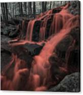 Tucker Brook Falls Ir 1 Canvas Print