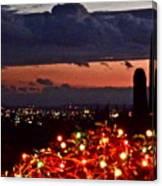 Tucson City Lights Canvas Print