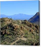 Tucson Mountain Ranges Canvas Print