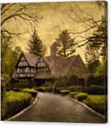 Tudor Estate Canvas Print