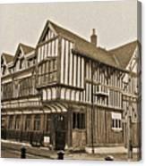 Tudor House Southampton Canvas Print