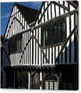 Tudor Timber Canvas Print