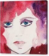 Tueday's Girl Canvas Print