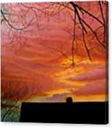 Tuesdays Sky Canvas Print