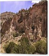 Tuff Cliffs Canvas Print