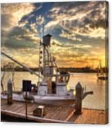 Tug Boat Canvas Print